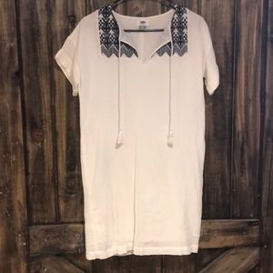 Old Navy White Gauze Shift Dress Size XSmall